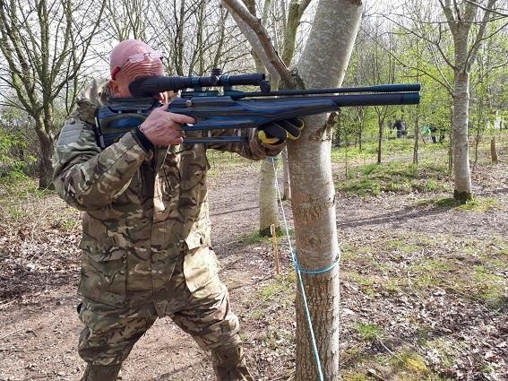 Custom Airguns and Stocks from Staffordshire Custom Rifles